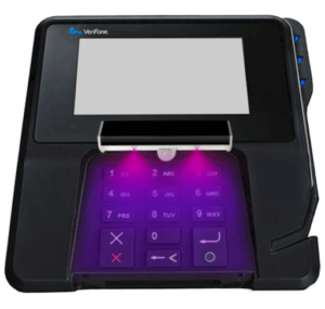 Clean payment terminal