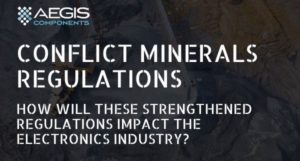 Conflict Minerals Regulations impact the electronics industry