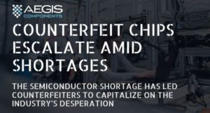 Counterfeit chips escalate amid shortages