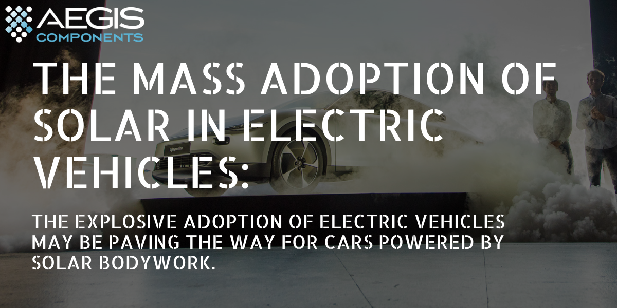 The mass adoption of solar in electric vehicles