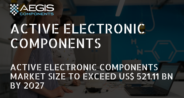Active Electronic Components Market Size to Exceed US$ 521.11 Bn by 2027